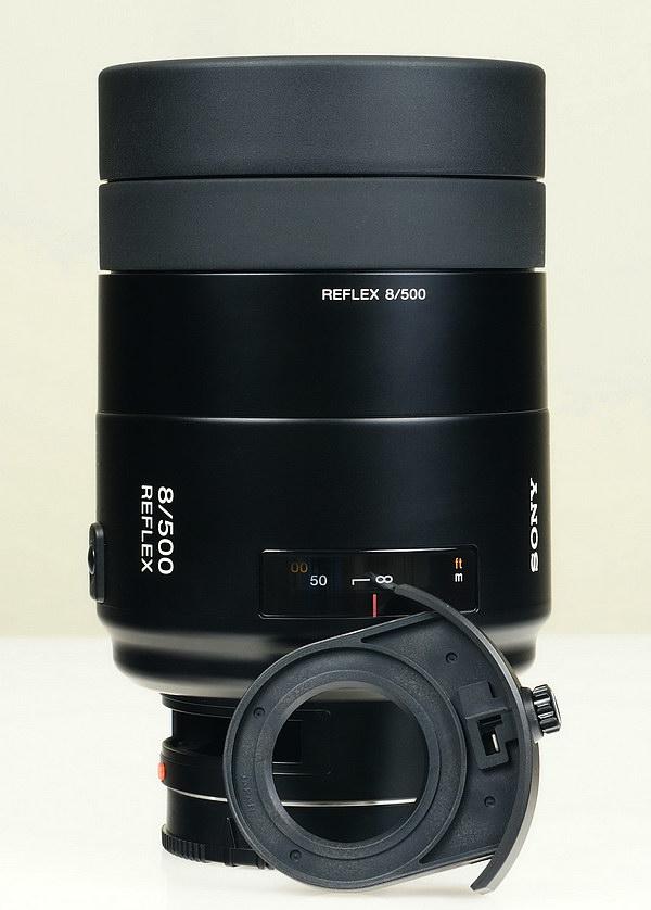 Spiegellen Bad sony 500mm f 8 reflex lens review